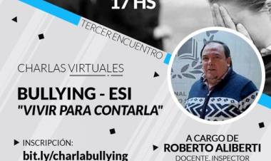 "*Charla Virtual Bullying - ESI: ""Vivir para contarla"""