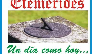 - Día Mundial de la Población  - Día del Bandoneón (en Arg)  - Día del Meteorólogo (en Arg)