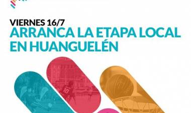 Juegos Bonaerenses 2021: Arranca la etapa local en Huanguelén