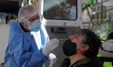 Coronavirus: se registraron 224 muertos y 5358  nuevos contagios