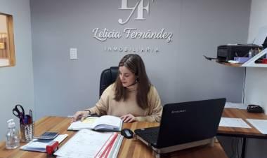 Leticia Fernández propietaria de Inmobiliaria, esta mañana en ''A Primera Hora''