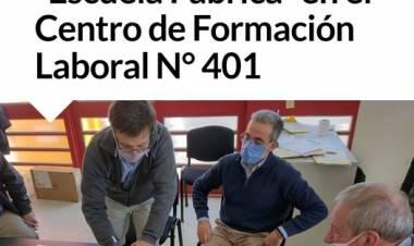 """""""Escuela Fábrica"""" en el Centro de Formación Laboral N° 401⠀"""