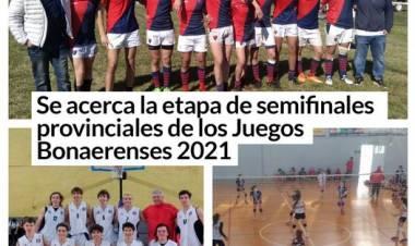 Se acerca la etapa de semifinales provinciales de los Juegos Bonaerenses 2021