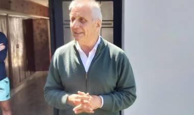 Lalo Dalmau en una entrevista con Miguel Menchi, por FM Suarense 101.9
