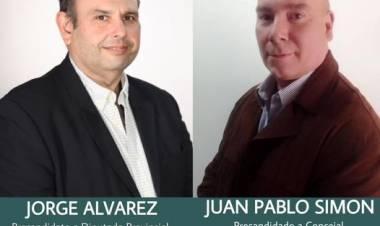 Pasó por nuestros estudios Juan Pablo Simon: el candidato a primer Concejal para el Concejo Deliberante local por ''Vamos con Vos''