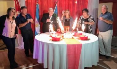 Cena y baile 83 Aniversario de Independiente de Pblo. San José.