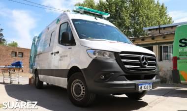 Coronel Suárez cuenta con una ambulancia de alta complejidad