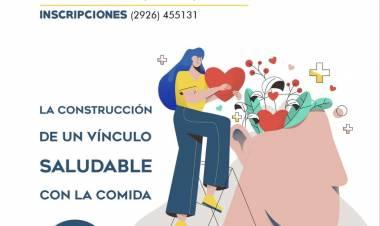 Te invitamos a la charla sobre Obesidad y Sobrepeso, ABIERTA Y GRATUITA a toda la comunidad de Coronel Suárez