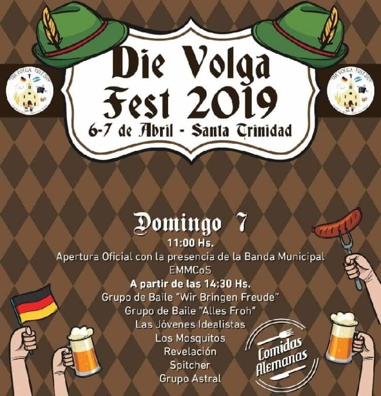 """6 y 7 de abril primera edición en Pueblo Santa Trinidad de la: """"Die Volga Fest"""""""