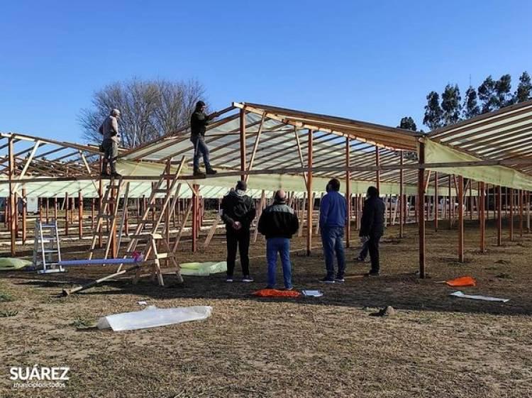 Se habilitarán los invernáculos del Parque de Producciones Intensivas